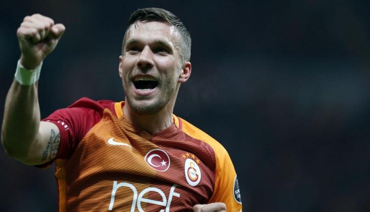 Eski Galatasaraylı Lukas Podolski'den Fenerbahçe'ye gönderme