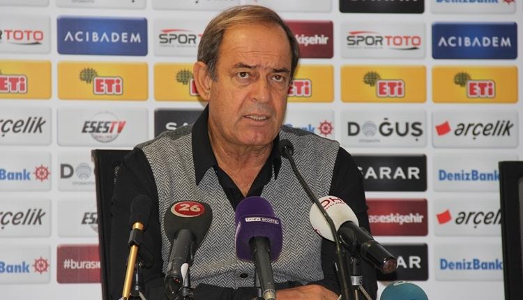 Eskişehirspor'da Yücel İldiz'den futbolcularına övgü