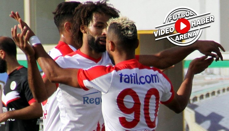 Etimesgut Belediyespor - Antalyaspor maçı özeti ve golü (İZLE)