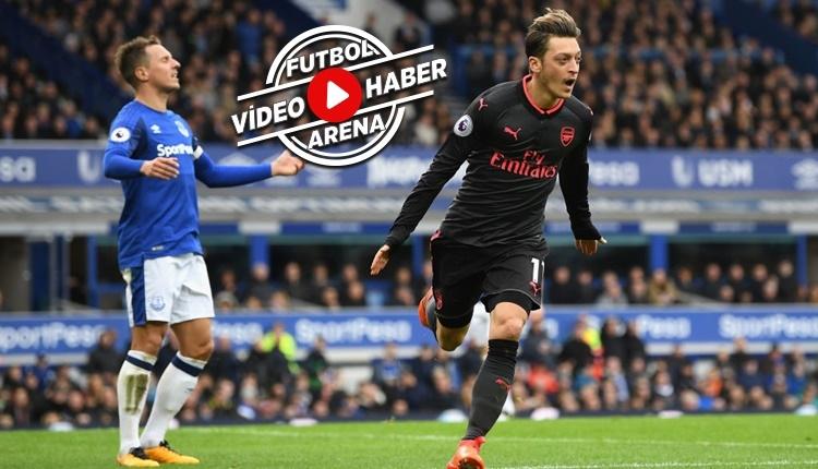 Everton 2-5 Arsenal maçı özeti ve golleri (İZLE)