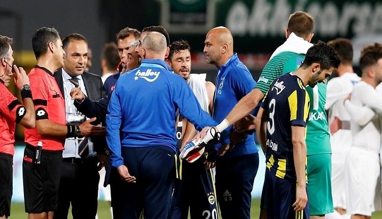 Fenerbahçe, Akhisarspor maçının hakem raporlarını yayınladı