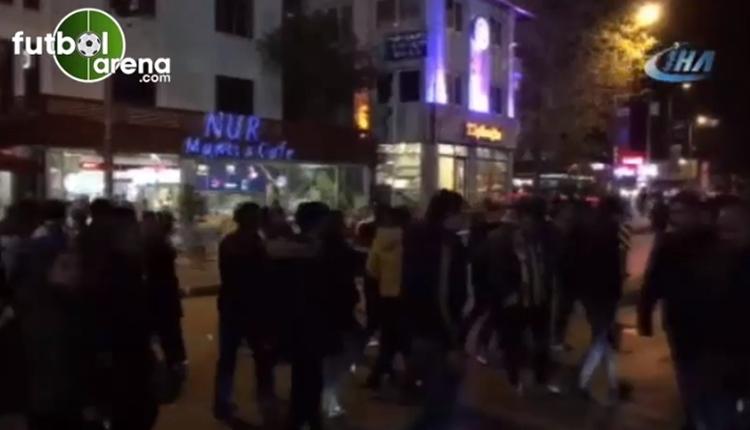 Fenerbahçe taraftarı gözaltına alındı! Polise küfür