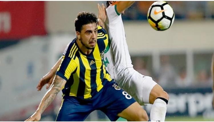 Fenerbahçe'de Aykut Kocaman'dan Mehmet Ekici - Ozan Tufan ikilemi