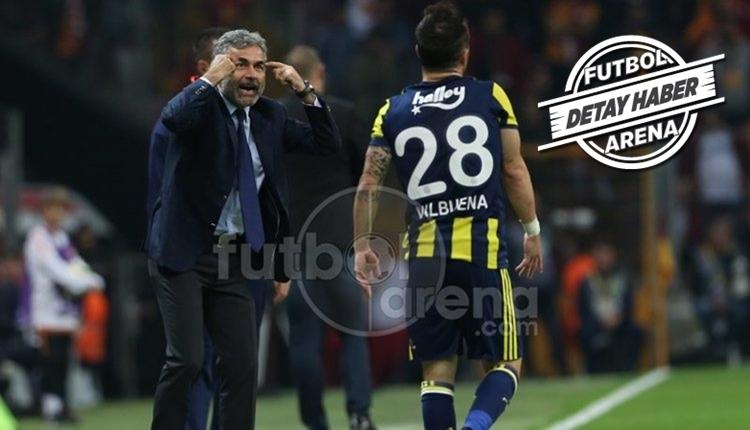 Fenerbahçe'de Aykut Kocaman'dan Valbuena tavrı