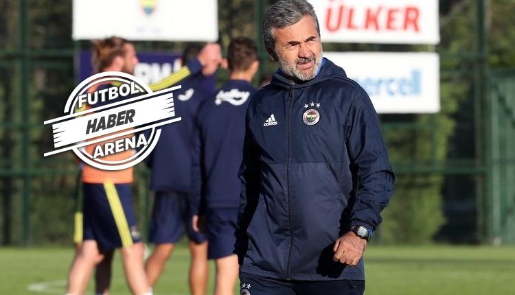 Fenerbahçe'de Aykut Kocaman'ın 1 numaralı hedefi