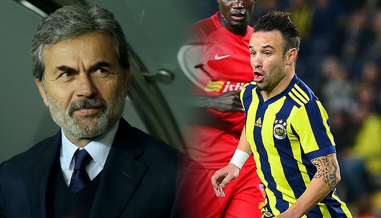 Fenerbahçe'de Valbuena'dan Aykut Kocaman'a soyunma odasında rest! Yüzüne bakmadı