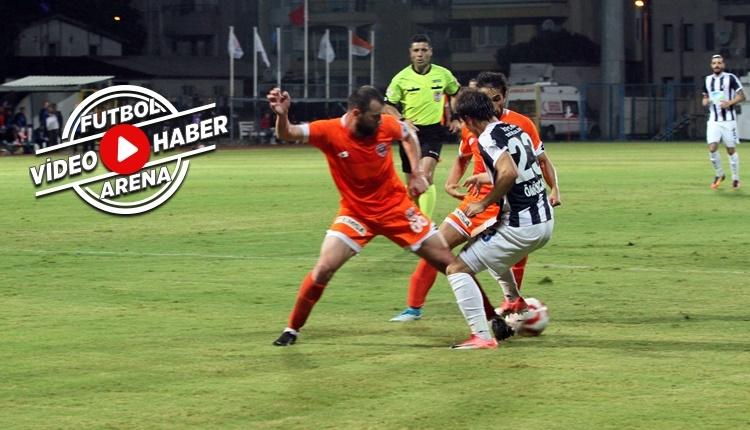 Fethiyespor 1-2 Adanaspor maçı özeti ve golleri (İZLE)