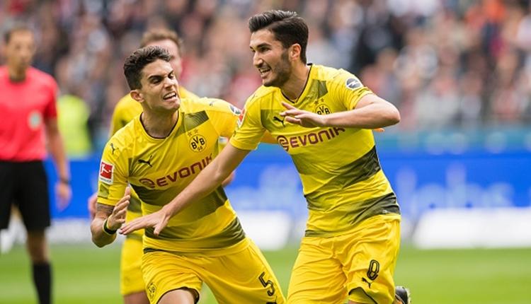 Frankfurt 2-2 Dortmund maç özeti (Nuri Şahin'in golü)