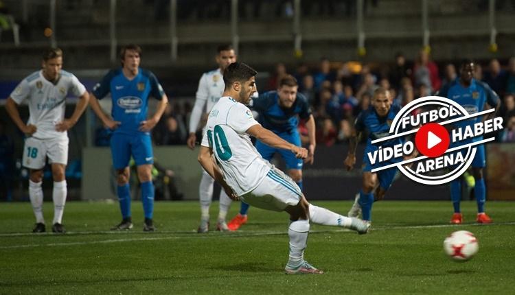 Fuenlabrada 0-2 Real Madrid maçı özeti ve golleri (İZLE)