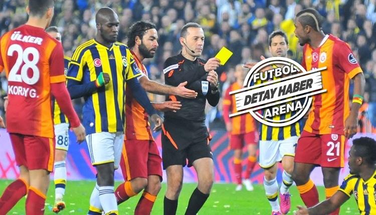 Galatasaray - Fenerbahçe derbisi kart raporu