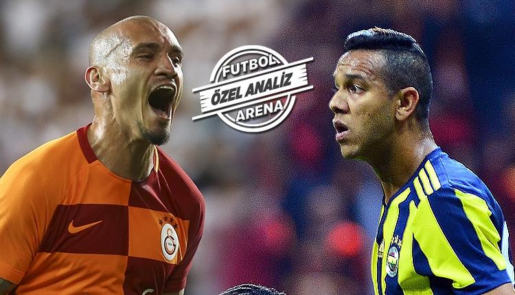Galatasaray - Fenerbahçe maçının en iyileri Josef de Souza ve Maicon