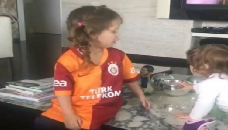 Galatasaray forması giyen dünyaca ünlü golcünün kızı