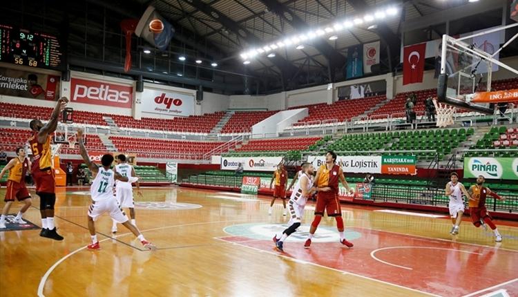 Galatasaray Odeabank, Pınar Karşıyaka'yı mağlup etti