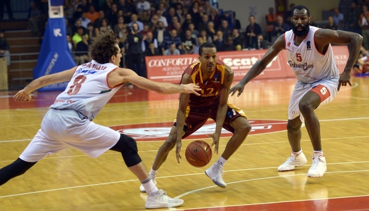 Galatasaray Odeabank, Reggio Emilia'ya mağlup oldu
