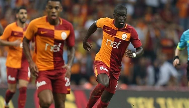Galatasaray'da Badou Ndiaye'den korkutan görüntü