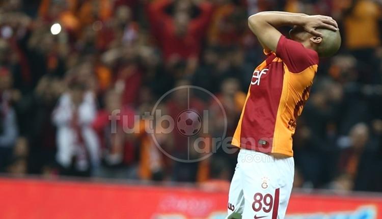 Galatasaray'da Feghouli'den derbi sonrası Belhanda itirafı