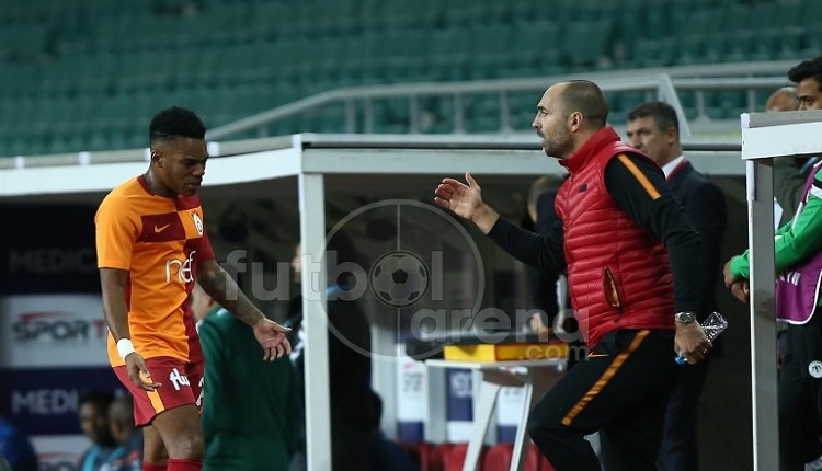 Galatasaray'da Garry Rodrigues'ten şok tepki