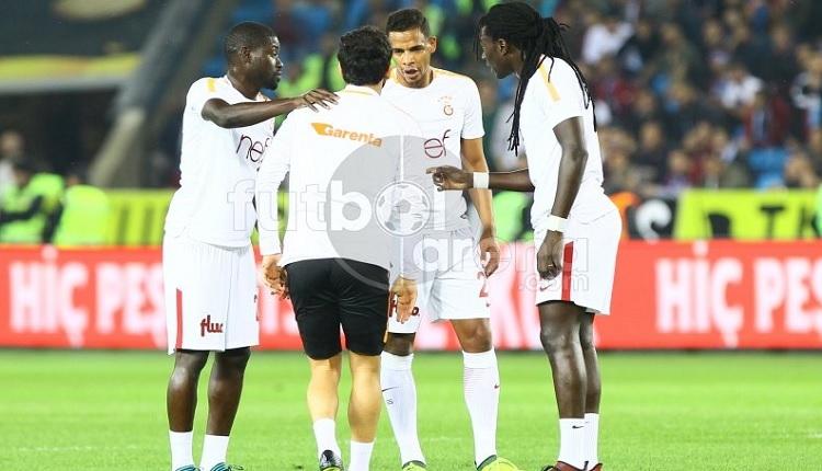 Galatasaray'da Gomis, Trabzonspor maçında Selçuk İnan'dan özür diledi