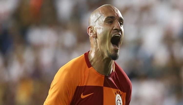 Galatasaray'da Maicon taraftarlarla buluştu