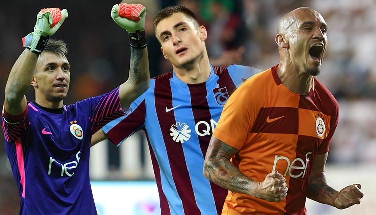 Galatasaray'da Muslera ve Maicon'dan hakeme görüntülü tepki