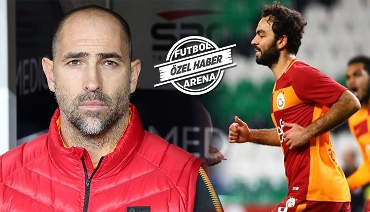 Galatasaray'da Selçuk İnan, Igor Tudor zirvesi