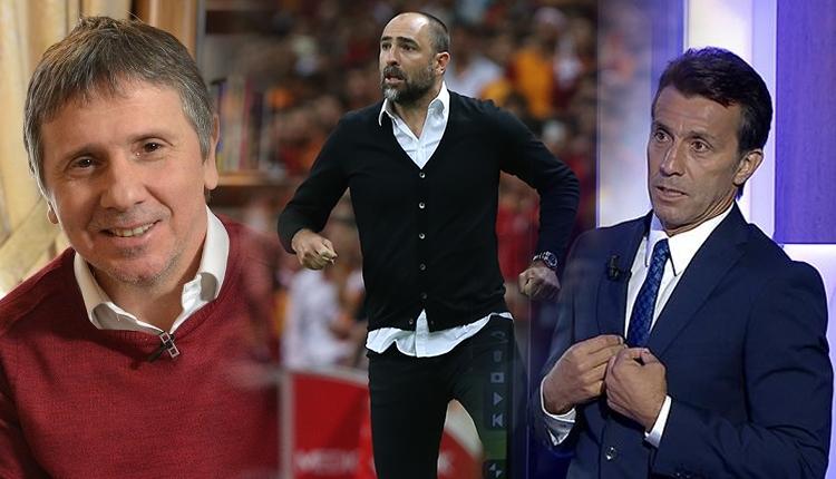 Galatasaray'da Tudor'un sözlerine Metin Tekin ve Bülent Korkmaz'dan tepki: