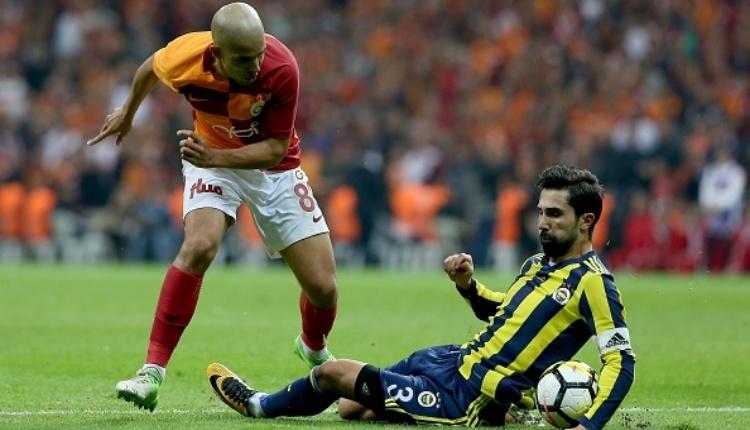 Galatasaray'ı Fenerbahçe derbisinde yakan Dzemaili kararı