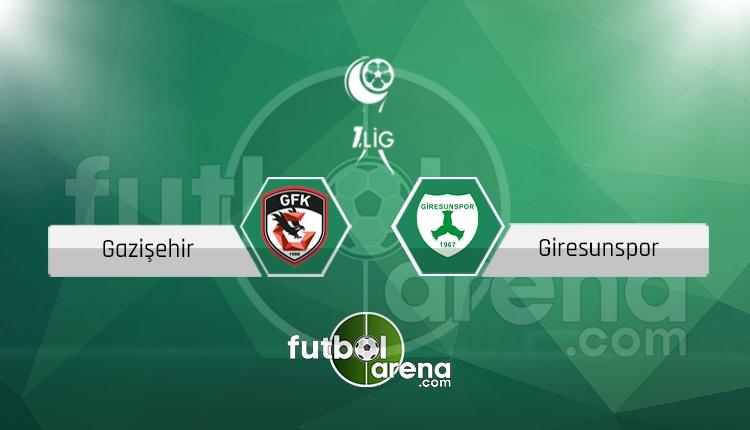 Gaziantep Gazişehir Giresunspor canlı skor, maç sonucu - Maç hangi kanalda?