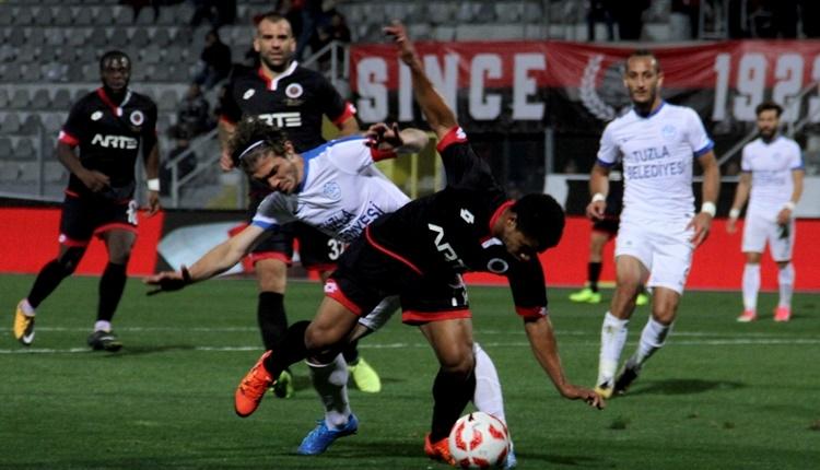 Gençlerbirliği 3-0 Tuzlaspor maçı özeti ve golleri (İZLE)