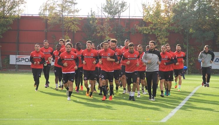 Gençlerbirliği'nde Tuzlaspor maçı öncesi 2 eksik