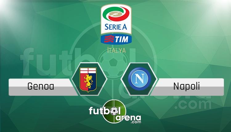 Genoa Napoli canlı skor, maç sonucu - Maç hangi kanalda?