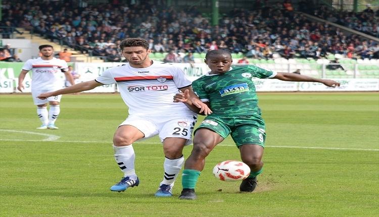 Giresunspor 0 - 1 Manisaspor maçı özeti ve golleri (İZLE)