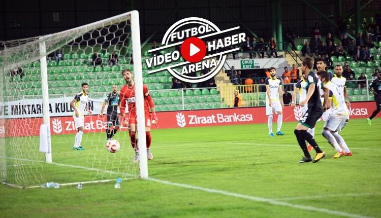 Giresunspor 2-1 Menemen Belediyespor maçı özeti ve golleri (İZLE)