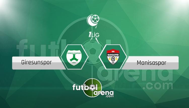Giresunspor - Manisaspor canlı skor, maç sonucu - Maç hangi kanalda?