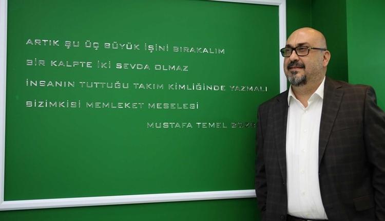 Giresunspor'da Mustafa Bozbağ'dan takıma sert uyarı!