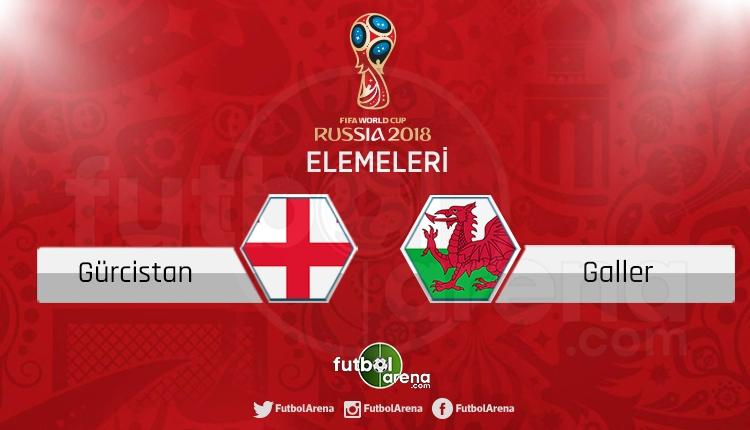 Gürcistan Galler canlı skor, maç sonucu - Maç hangi kanalda?