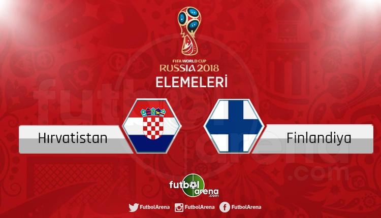 Hırvatistan Finlandiya canlı skor, maç sonucu - Maç hangi kanalda?