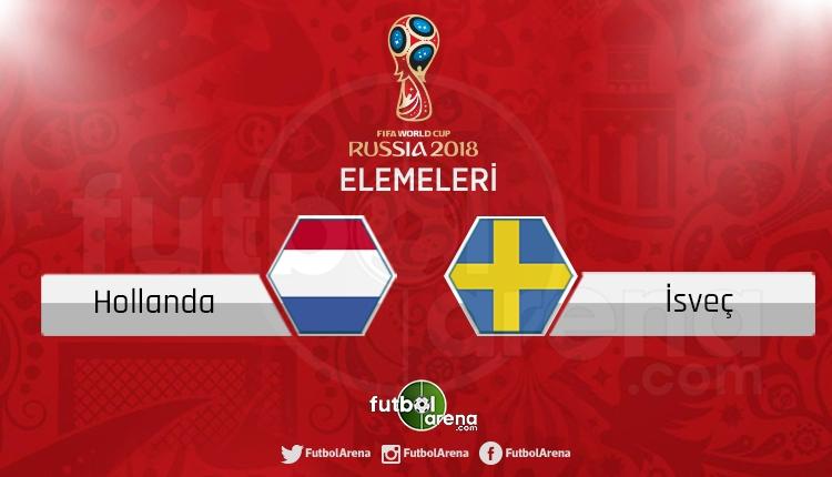 Hollanda - İsveç canlı skor, maç sonucu - Maç hangi kanalda?