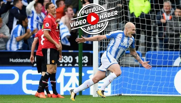 Huddersfield 2-1 Manchester United maçı özeti ve golleri (İZLE)
