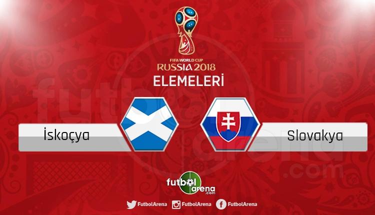 İskoçya Slovakya canlı skor, maç sonucu - Maç hangi kanalda?
