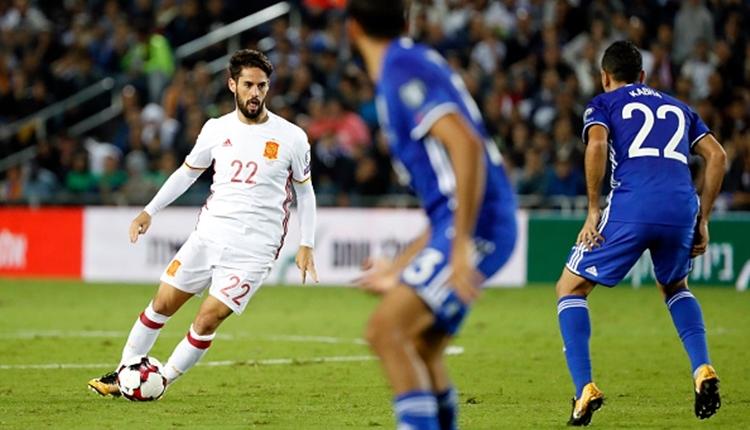 İsrail - İspanya maçında Isco'ya bıçaklı saldırı girişimi