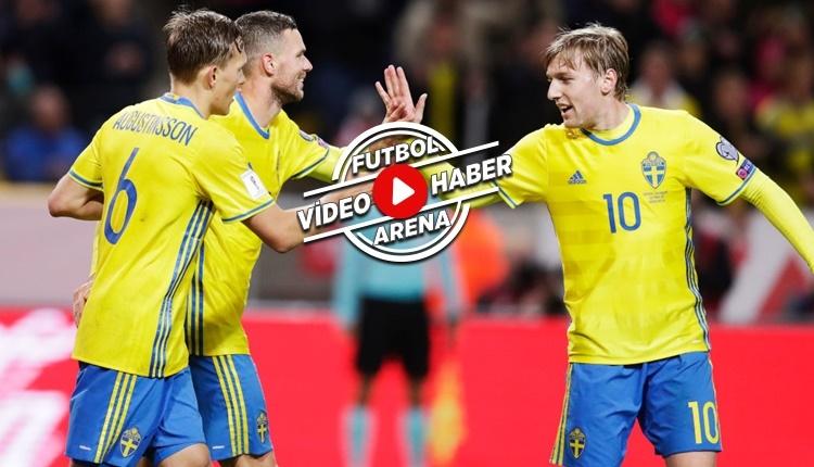 İsveç 8-0 Lüksemburg maçı özeti ve golleri (İZLE)