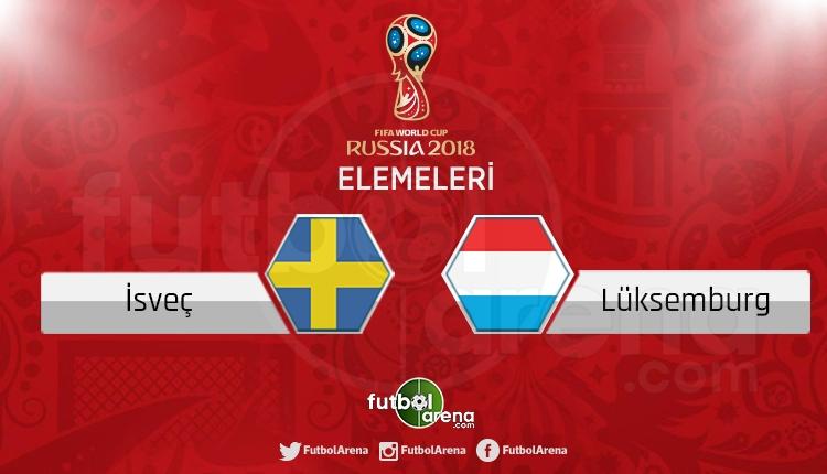 İsveç Lüksemburg canlı skor, maç sonucu - Maç hangi kanalda?