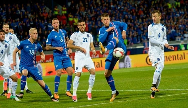İzlanda, 2018 Dünya Kupası biletini rekorla kaptı (İZLE)
