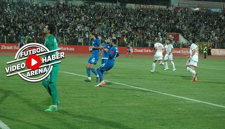 Kahramanmaraş 1-0 Çaykur Rizespor maçı özeti ve golü (İZLE)