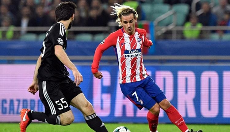 Karabağ - Atletico Madrid maçı Azerbaycan tarihine geçti (İZLE)