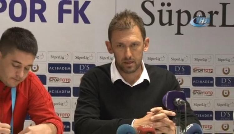 Karabükspor'da Popovic mağlubiyeti böyle savundu