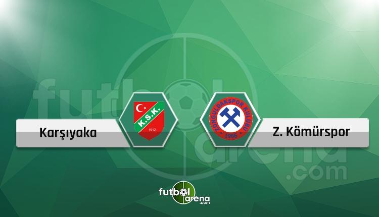 Karşıyaka - Zonguldak Kömürspor canlı skor, maç sonucu - Maç hangi kanalda?