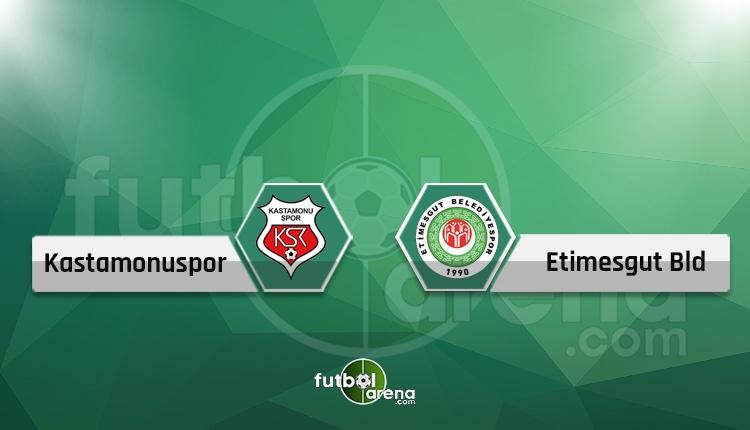 Kastamonuspor - Etimesgut Belediye maçı canlı yayın ve şifresiz izle