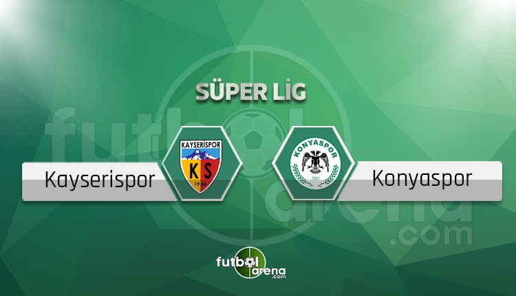 Kayserispor - Atiker Konyaspor canlı skor, maç sonucu - Maç hangi kanalda?
